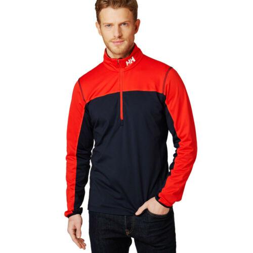Navy Blue Red Sports Outdoors Half Helly Hansen Mens Phantom 1//2 Zip 20 Top