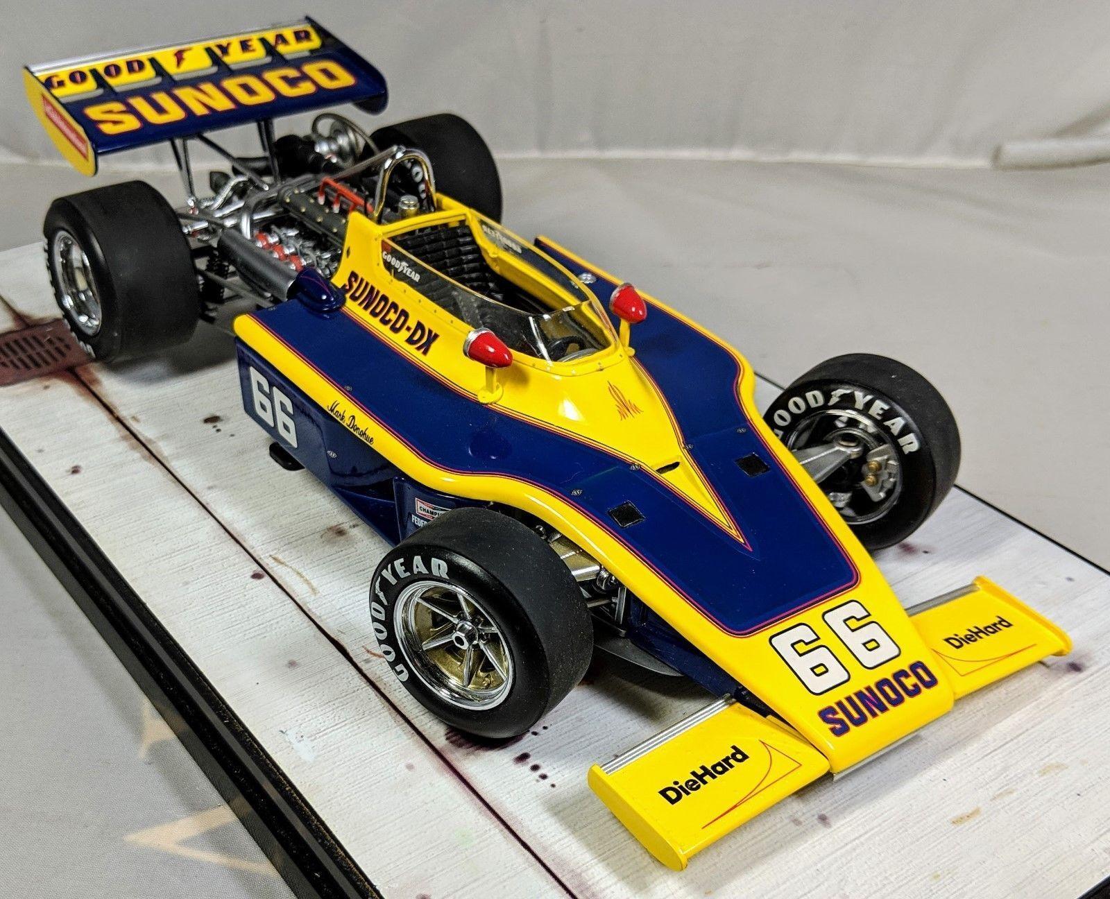 Carousel 1 Indy Aigle Voiture de Course 1973 Sunoco Mark Donohue Rodger