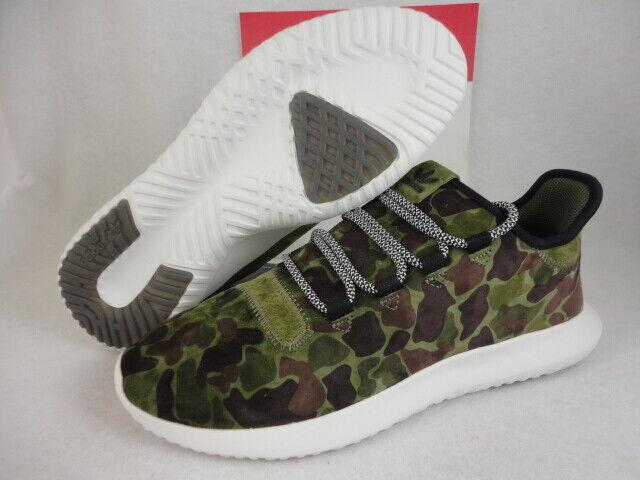 Adidas Tubular Shadow, Camo, Camouflage, Olive Green, BB8818, Size 11