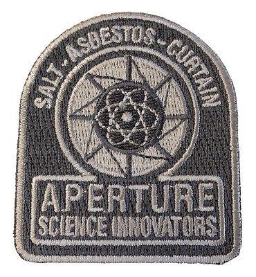 PORTAL 2 - aperture science Innovators - Logo - Uniform Patch - Aufnäher