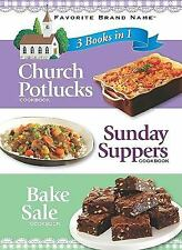 3 in 1 Church Pot Luck, Sunday Supper, Bake Sale Recipe Church Bible Faith