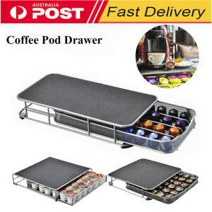 Coffee-Capsules-Pod-Holder-Rack-Drawer-Rack-Storage-Organizer-Stand-Office-Home