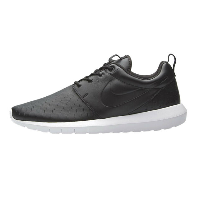 reputable site 6fd82 0378f Nike Men Roshe NM Laser Shoes Leather Black Mens Shoes 833126-001 Lsr One
