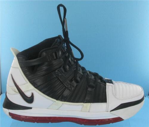 Iii nero scarpe Lebron rosso taglia box bianco uomo Zoom ginnastica 9 uk Nike da in qpAvTxE