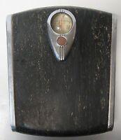 Vintage Retro Art Deco Mid Century Modern BORG Bathroom Weight Scale