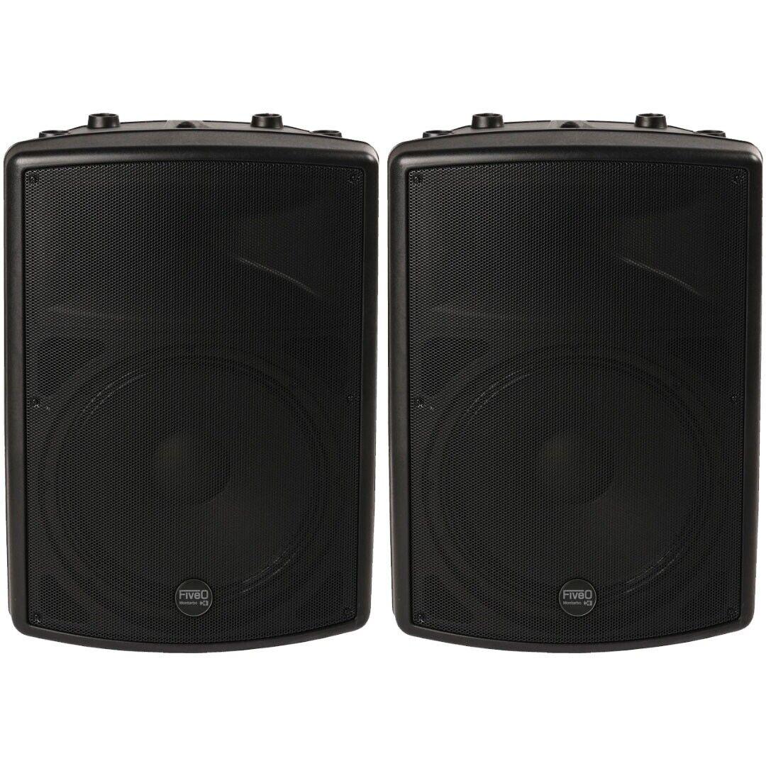 Montarbo FiveO D12A (Coppia) Impianto Audio DJ Casse Karaoke