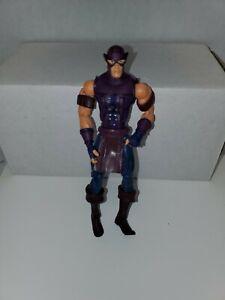 Marvel-Legends-Hawkeye-Action-Figure-Toy-2004-Toybiz-Series-7-6-034-Avengers