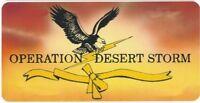 Operation Desert Storm Photo Plate