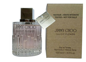 7623fcd659c Jimmy Choo ILLICIT FLOWER Tstr 3.3 3.4oz. Edt Spray Women New In ...