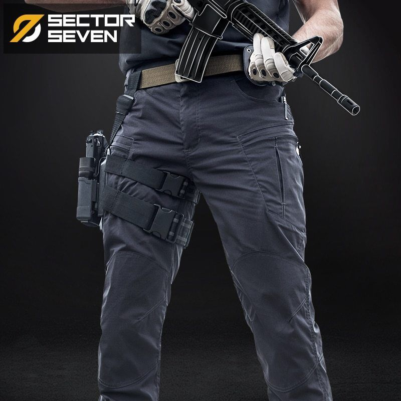 Tactical War Game Cargo Pants Mens Silm Casual Pants trousers Army military IX8