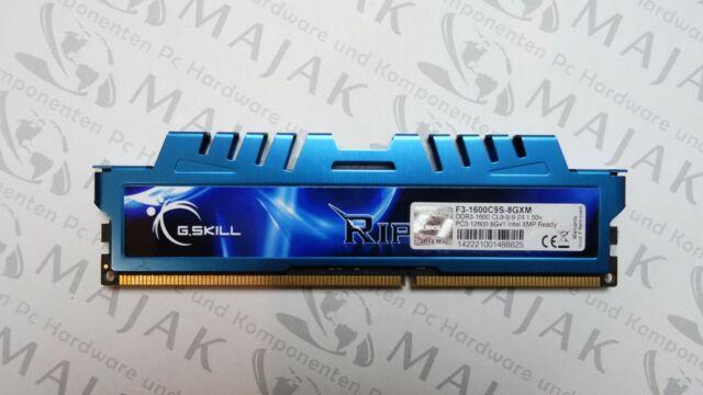 G.SKILL Rip-Jaws 8 GB PC3-12800 F3-1600C9S-8GXM DDR3-1600Mhz