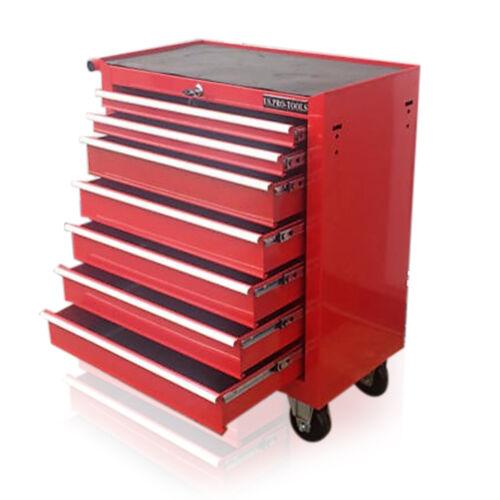 US PRO Outils Abordable Acier Poitrine Boîte À Outils Rouleau Armoire 7 tiroirs