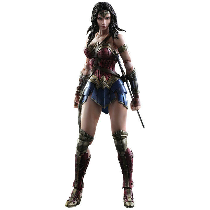 """Dawn of Justice - Wonder Woman Play Arts Kai 10"""" Action Figure"""