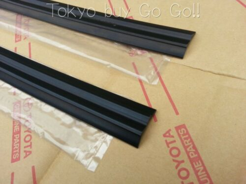 Toyota Corolla CP Coupe AE86 Door Glass Run Front LH RH set Genuine OEM Parts