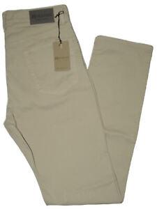 Pantalone-uomo-jeans-HOLIDAY-46-48-50-52-54-56-58-60-cotone-estivo-beige-ETAN