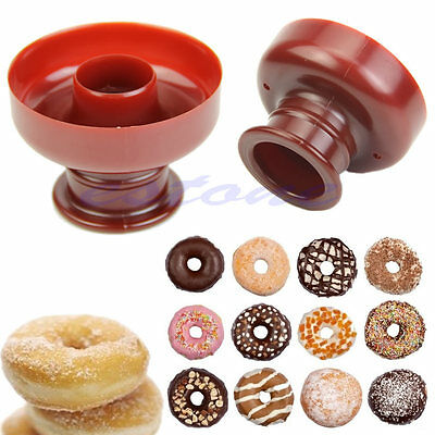 New Donut Maker Cutter Mold Fondant Cake Bread Desserts Bakery Mould Tool DIY