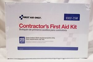 Contractor's First Aid Kit 25 person