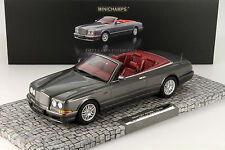 Bentley Continental Azure Baujahr 1998 grau metallic 1:18 Minichamps