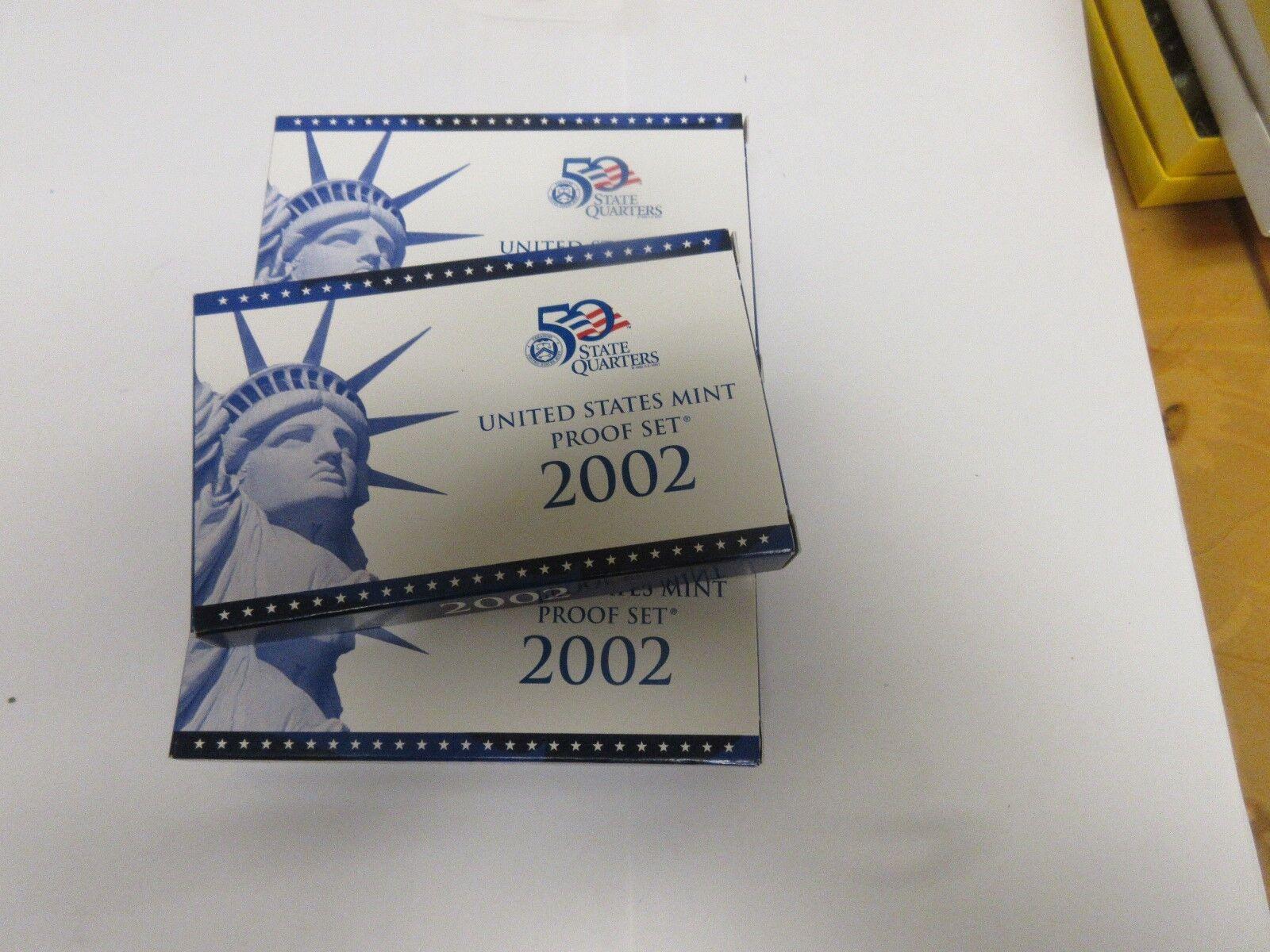 2002 U.S.A. Mint , Proof Set , Lot of 5 Sets