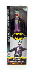 NIB-BATMAN-Missions-034-JOKER-034-True-Moves-12-034-Action-Figure-by-Mattel