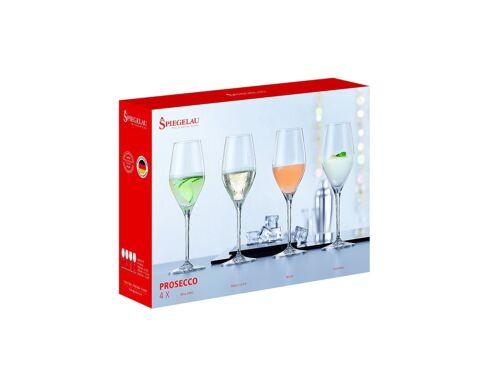 Vin Mousseux Et Champagne Champagne Lot de 4 Cristal Spiegelau Prosecco Lunettes