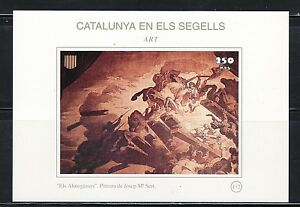 CATALUNA-EN-SELLOS-HB-N-112-ARTE-ALMOGAVARES-PINTURA-SERT