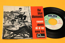 "BLUE DIAMONDS 7"" EP 4 CANOZNI  RAMONA +3 TOP RARE '60 BEAT"