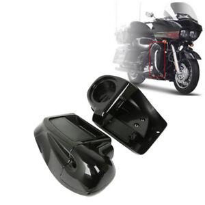 Lower Vented Fairing Speaker Box Pod Fit For Harley Road