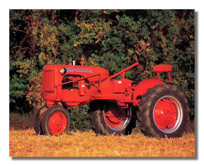Boy John Deere Tractor Working Farm #1 Wall Picture 8x10 Art Print