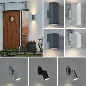 Details Zu Led Außenlampen Außenleuchten Edelstahl Alu Wandlampe Außenbeleuchtung Gu10 230v
