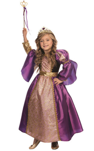 Dress Up America filles enfants petite princesse violet Royalty Costume Outfit afficher le titre d'origine