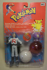 Vintage 90s Figur James & Smogon Pokemon Trainer Set Hasbro 1998 OVP