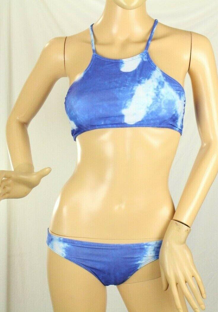 Juniors Batik Blau Badeanzug Größe L