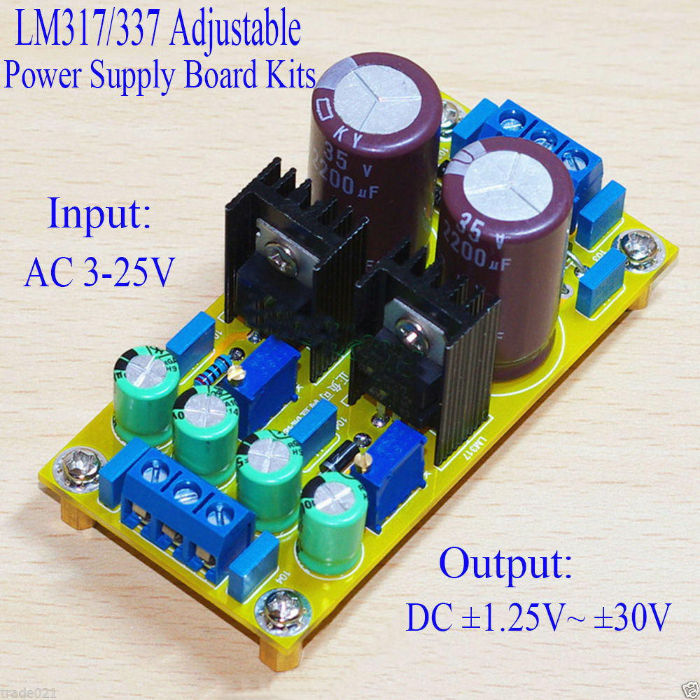 Ac Dc Lm317 Lm337 Adjustable Regulated Dual Power Supply Module Cellphone Lithium Ion Battery Charger Circuit Of Norton Secured Powered By Verisign