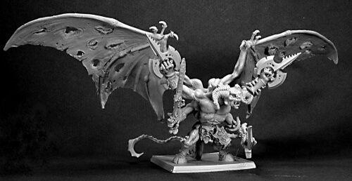 REAPER MINIATURES WARLORD - 14417 Rauthuros, Greater Demon