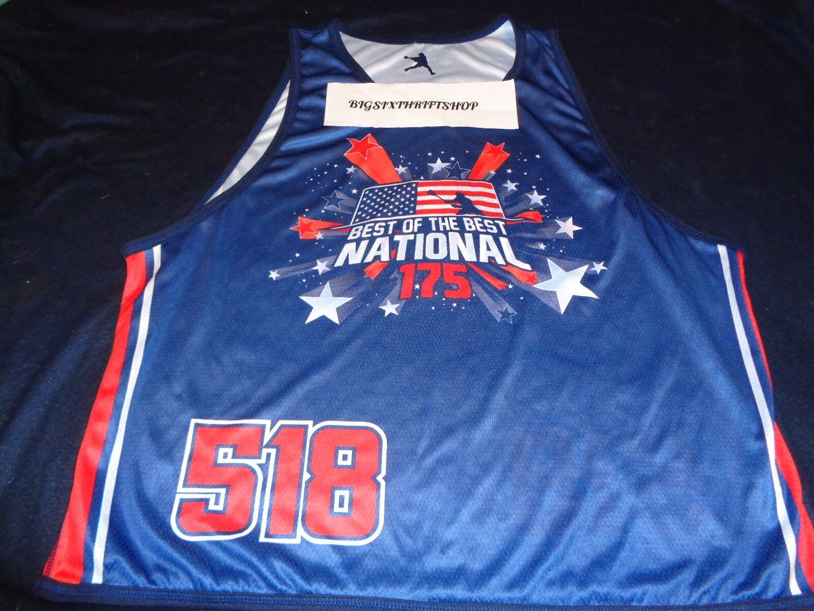 87e6db2a221 BEST OF THE NATIONAL REVERSIBLE LACROSSE JERSEY AUTHENTIC 175 BEST ...