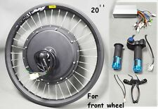New USA 20inch 48V 500W Front Wheel E-bike Conversion Kit Electric Bike Modified
