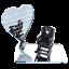 In-Loving-Memory-Mum-Sign-Wedding-Memorial-Personalised-Plaque-Table-Poem-Heart miniatura 34