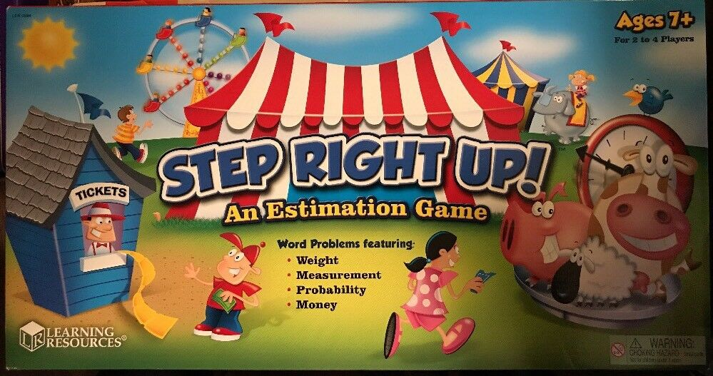 LEARNING RESOURCES STEP  RIGHT UP  AN ESTIMATION GAME