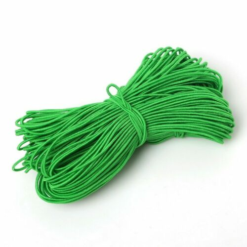 25Meter 1mm Colorful Elastic Stretch Cord Strings Nylon Embroidery Threads Craft