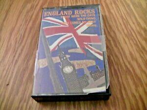 England-Rocks-Cassette-Tape-1981-with-The-Troggs-Swingin-039-Blue-Jeans