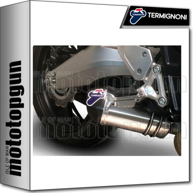 TERMIGNONI LIGNE COMPLETE RACE RELEVANCE TITANE CC HONDA CB 650 2016 16