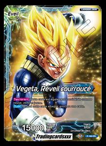 db1-p-163 pr-vf awakening incensed ♦ ♦ super dragon ball vegeta