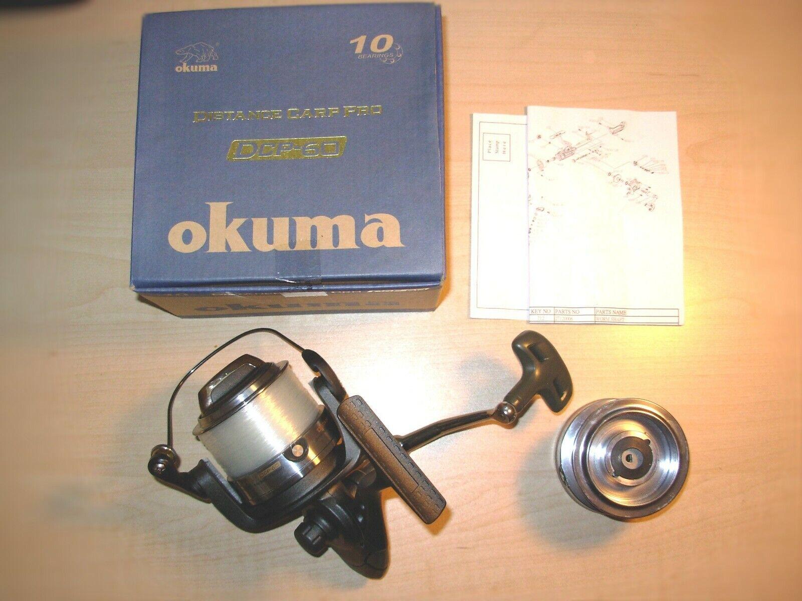 Okuma DCP60  Distance Carp Pro Surf Spinning Reel  the newest brands outlet online