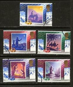 GB-1988-Commemorative-Stamps-Christmas-Very-Fine-Used-Set-ex-fdc-UK-Seller