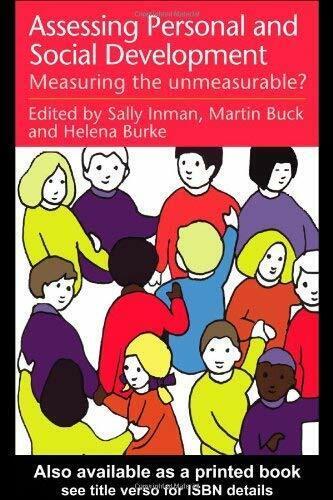 Assessing Kinder Personal und Social Entwicklung: Maß The Unmeasurabl