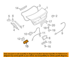 BMW-OEM-07-13-328i-Trunk-Lid-Boot-51247118158