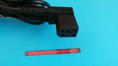 Starter Cable Suitable for Singer Foot Pedal Futura Sewing Machine 5 Polig
