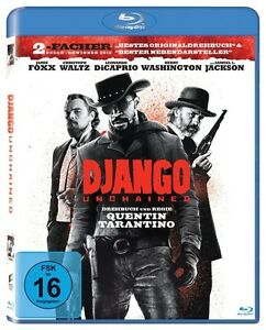 Blu-ray-Django-Unchained-NEU-OVP-Christoph-Waltz-Quentin-Tarantino