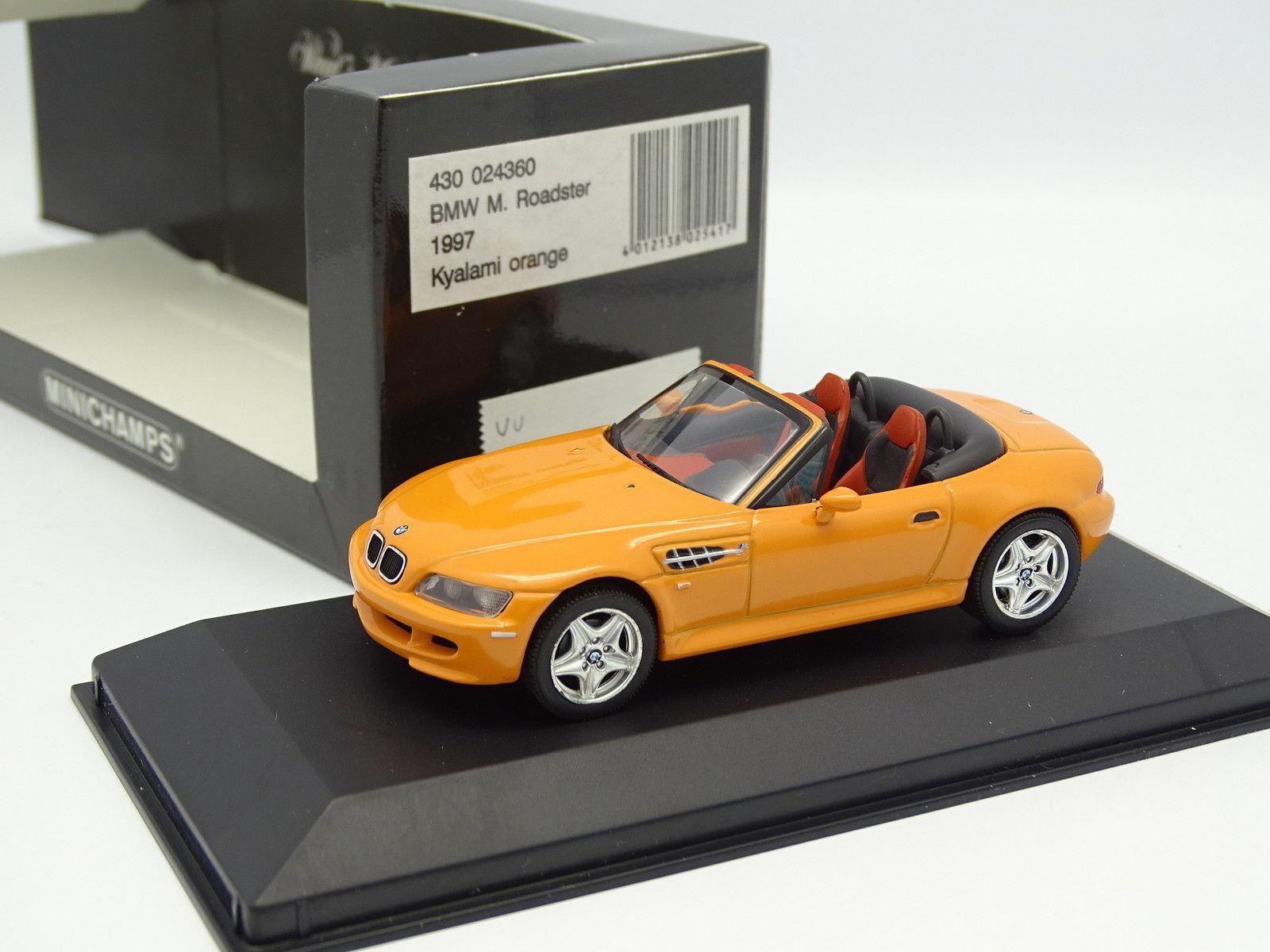 Minichamps 1 43 - BMW Z3 M roadster Arancione